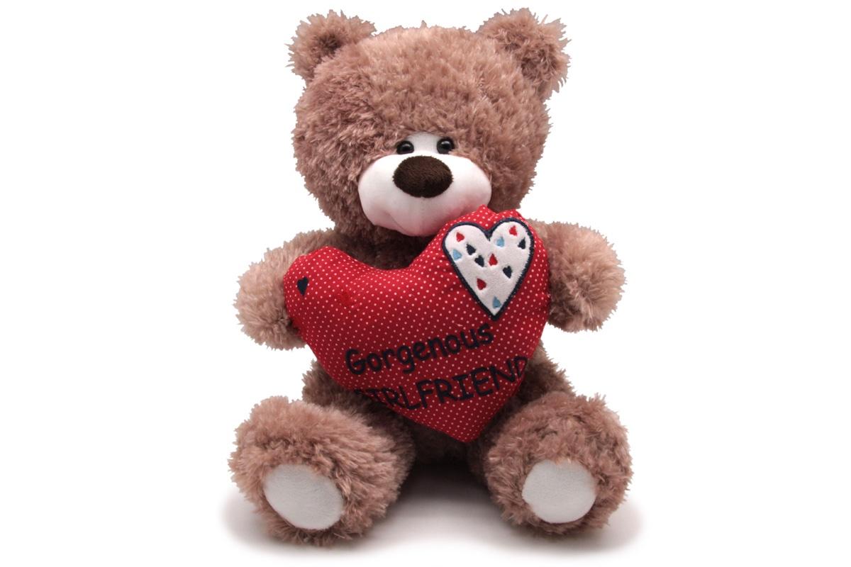 Мягкая игрушка magic bear toys 013SBX502 темно-бежевый