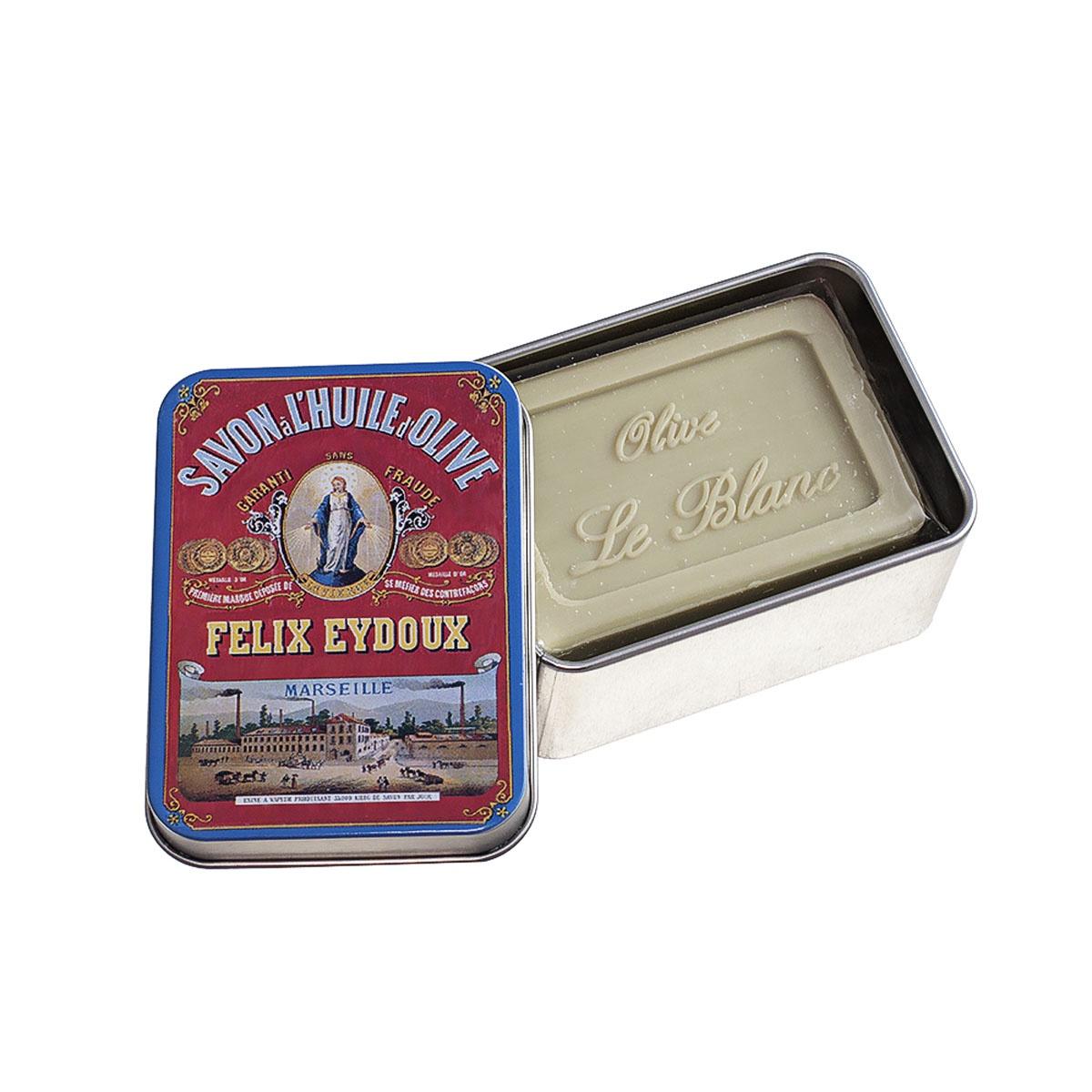 Мыло туалетное Le Blanc Оливки мыло ручной работы le blanc оливки в жестяной коробочке 100 г франция