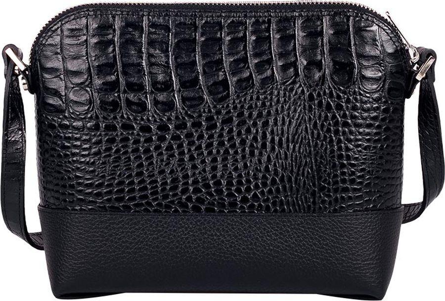 Сумка женская Fabula Caiman, S.256/1.KM, черный сумки fabula сумка