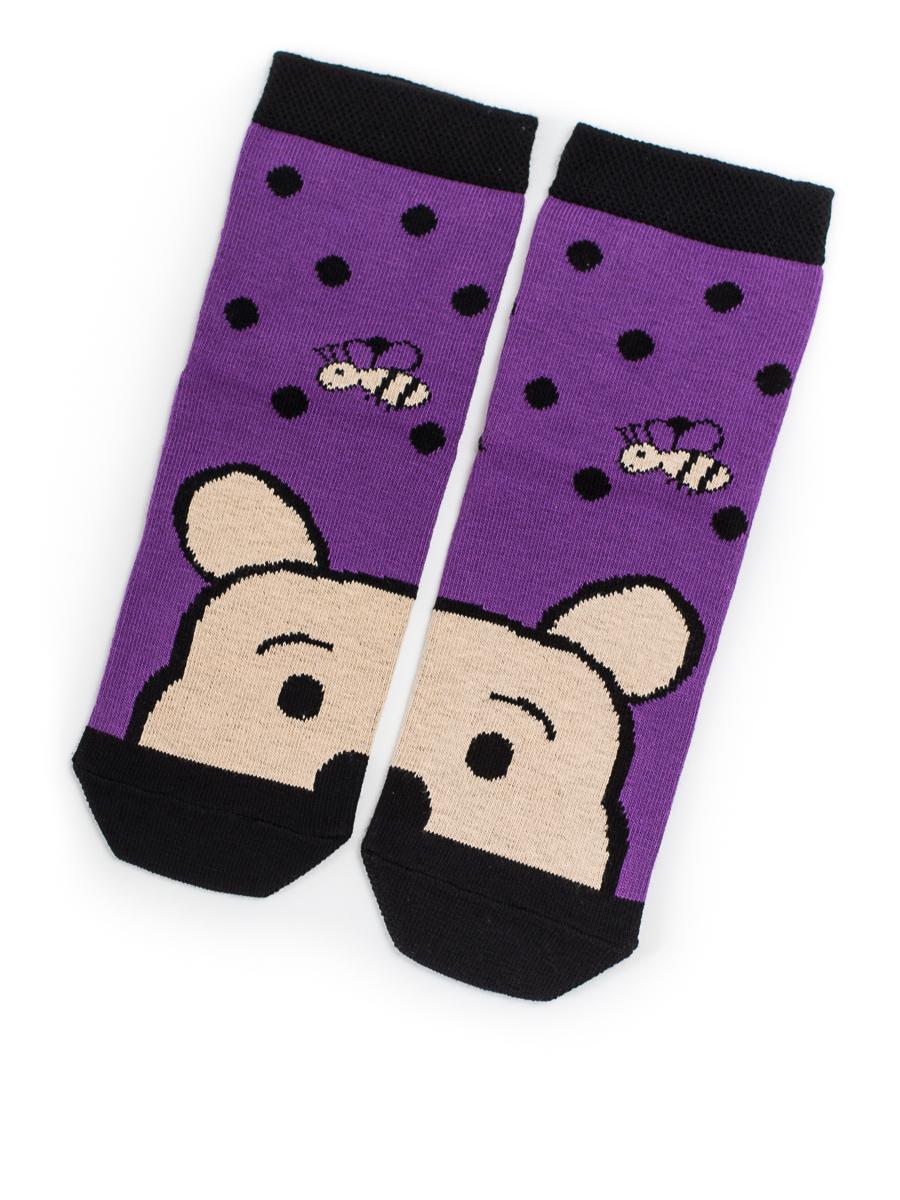Носки Bruco носки детские soxo кошка цвет синий 97100 размер 26 28