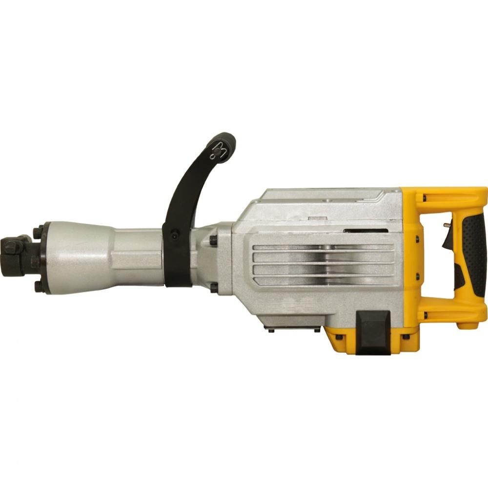Фото - Отбойный молоток Калибр ОМ-2200М, желтый бензиновая виброплита калибр бвп 13 5500в