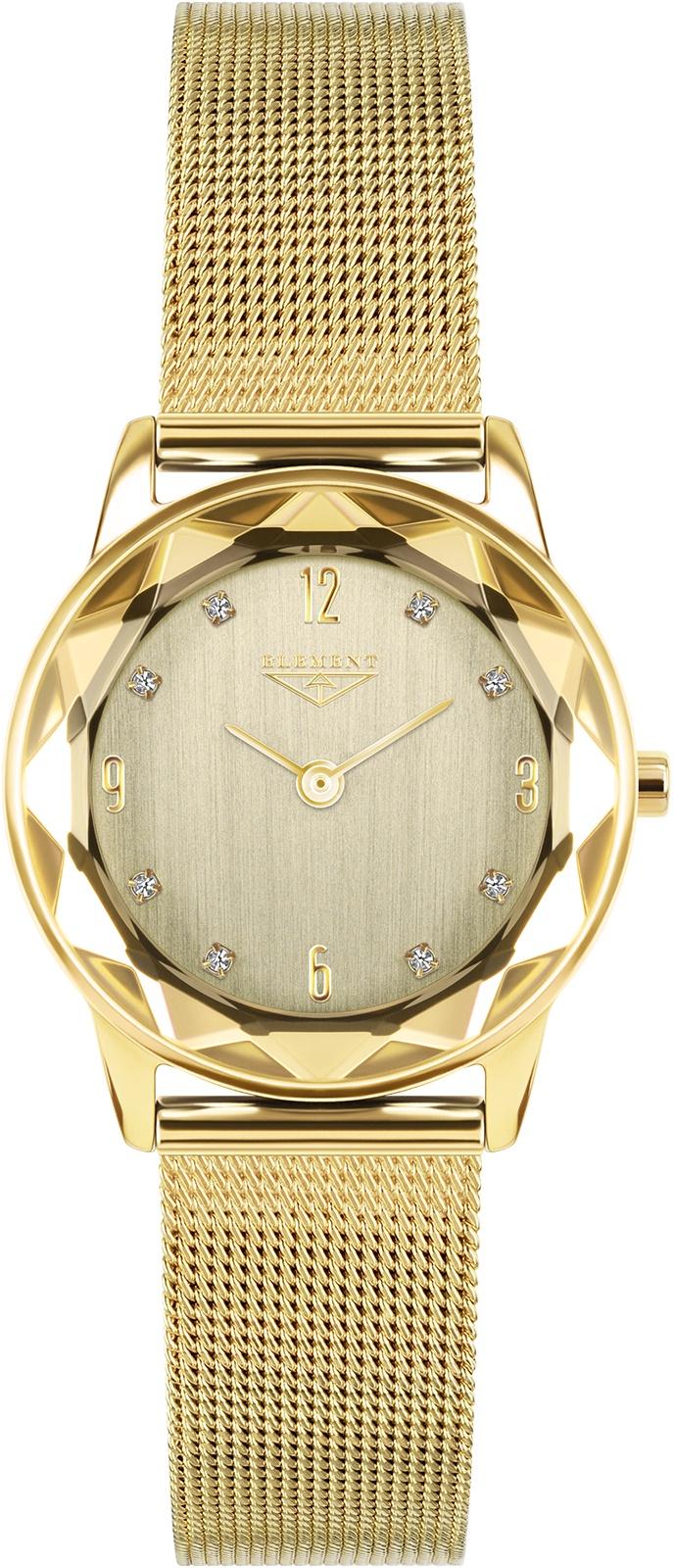 Часы 33 ELEMENT 331427, золотой женские часы 33 element 331427