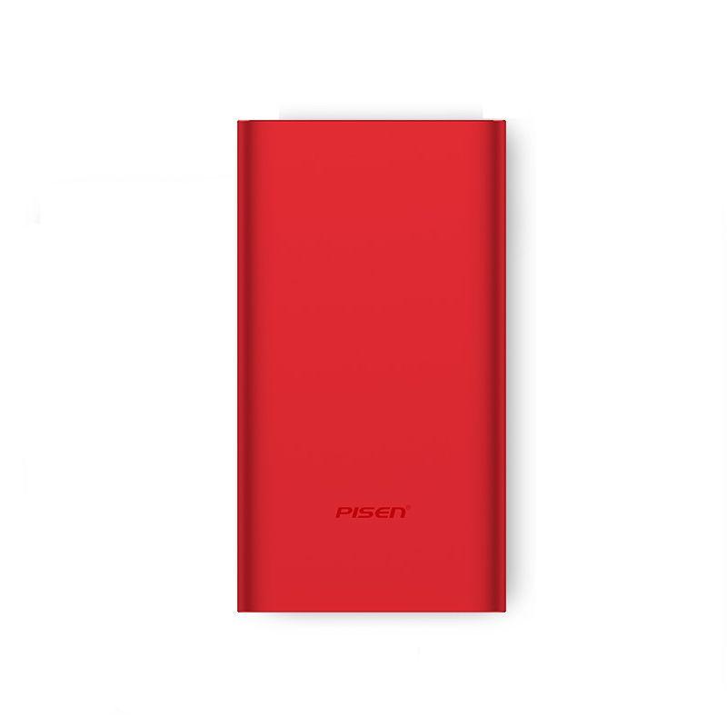 Фото - Внешний аккумулятор Pisen TS-D219, красный внешний аккумулятор pisen ts d186 белый
