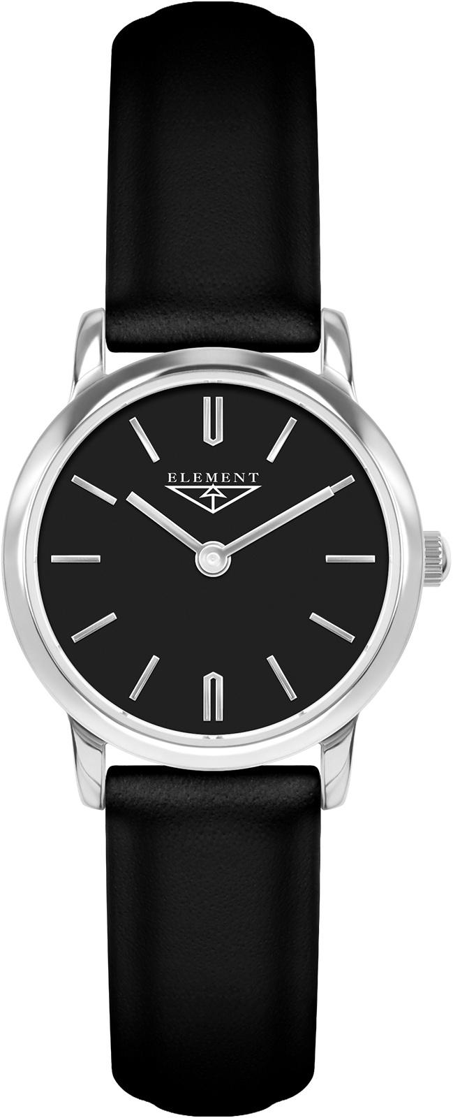 Часы 33 ELEMENT 331309, черный все цены