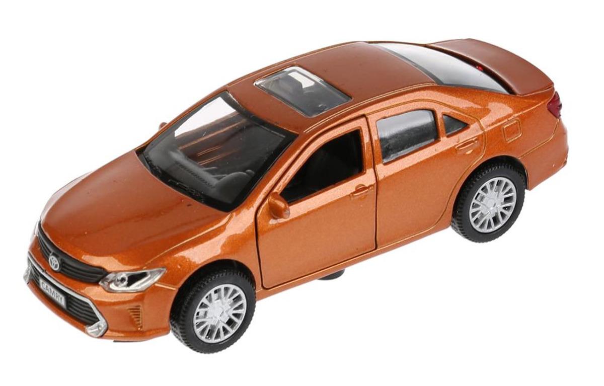 Машинка ТехноПарк Toyota Camry, инерционная, 4016280, 12 см, цвет в ассортименте инерционная металлическая машинка play smart 1 52 грузовик огнеопасно красный 16x6x7 65см
