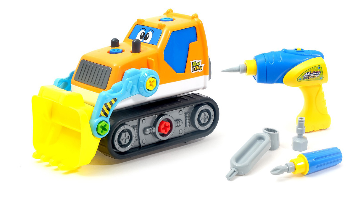 Пластиковый конструктор Экскаватор, 3636783 детские игрушки экскаватор видео