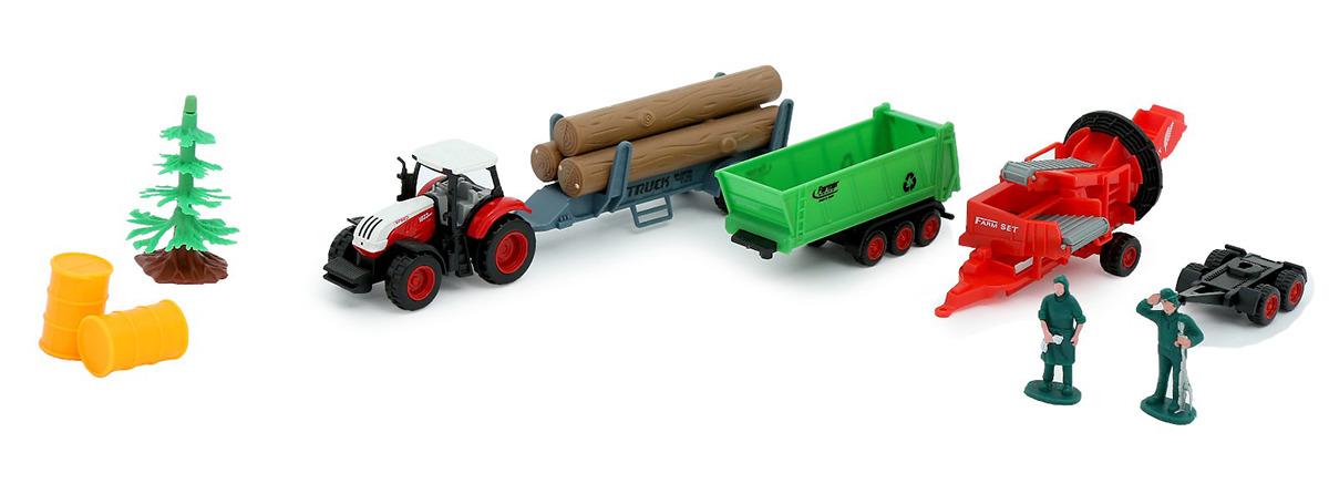 Игровой набор игрушек Ферма, с трактором и аксессуарами, 2920430