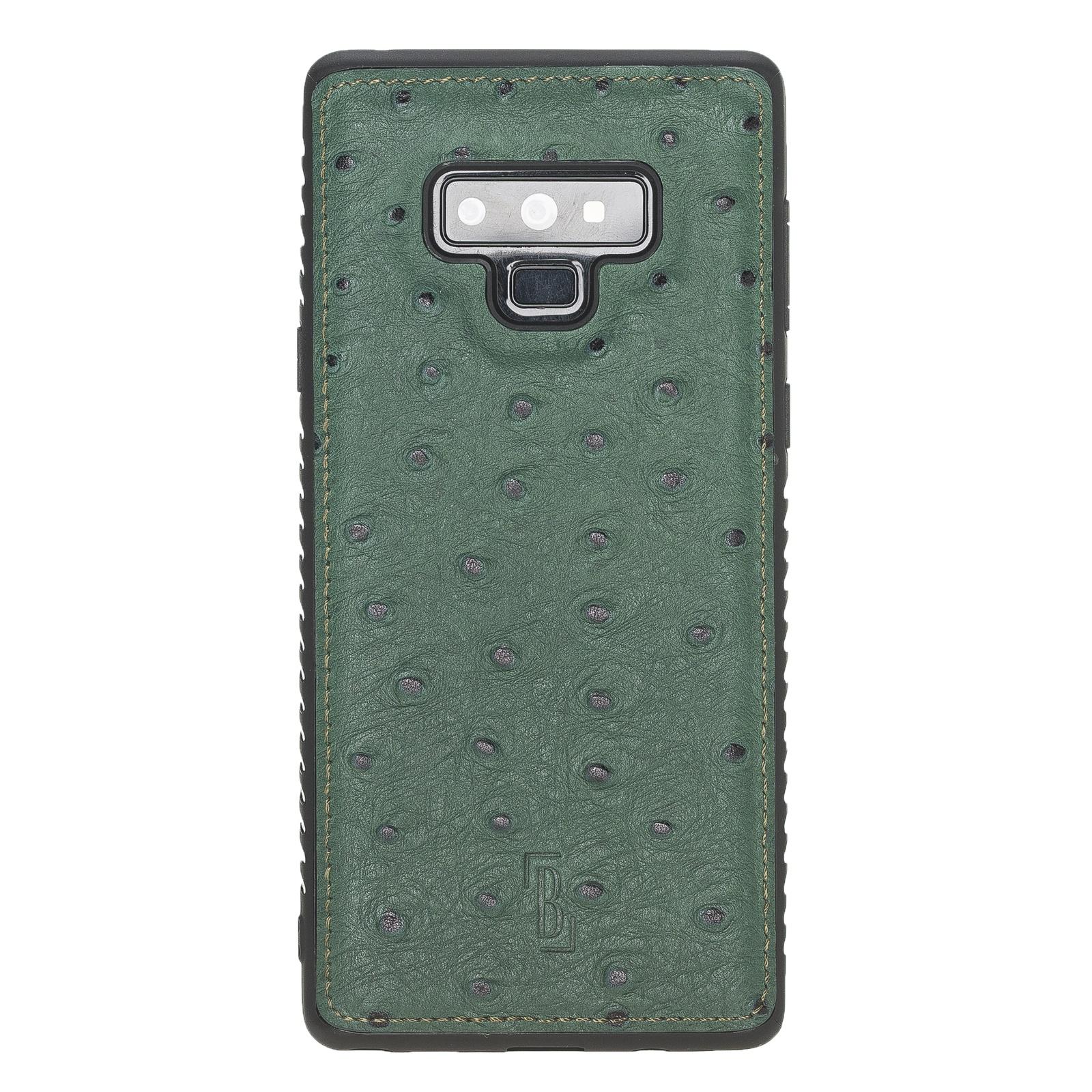 Чехол для сотового телефона Burkley для Samsung Galaxy Note 9 FlexCover, темно-зеленый