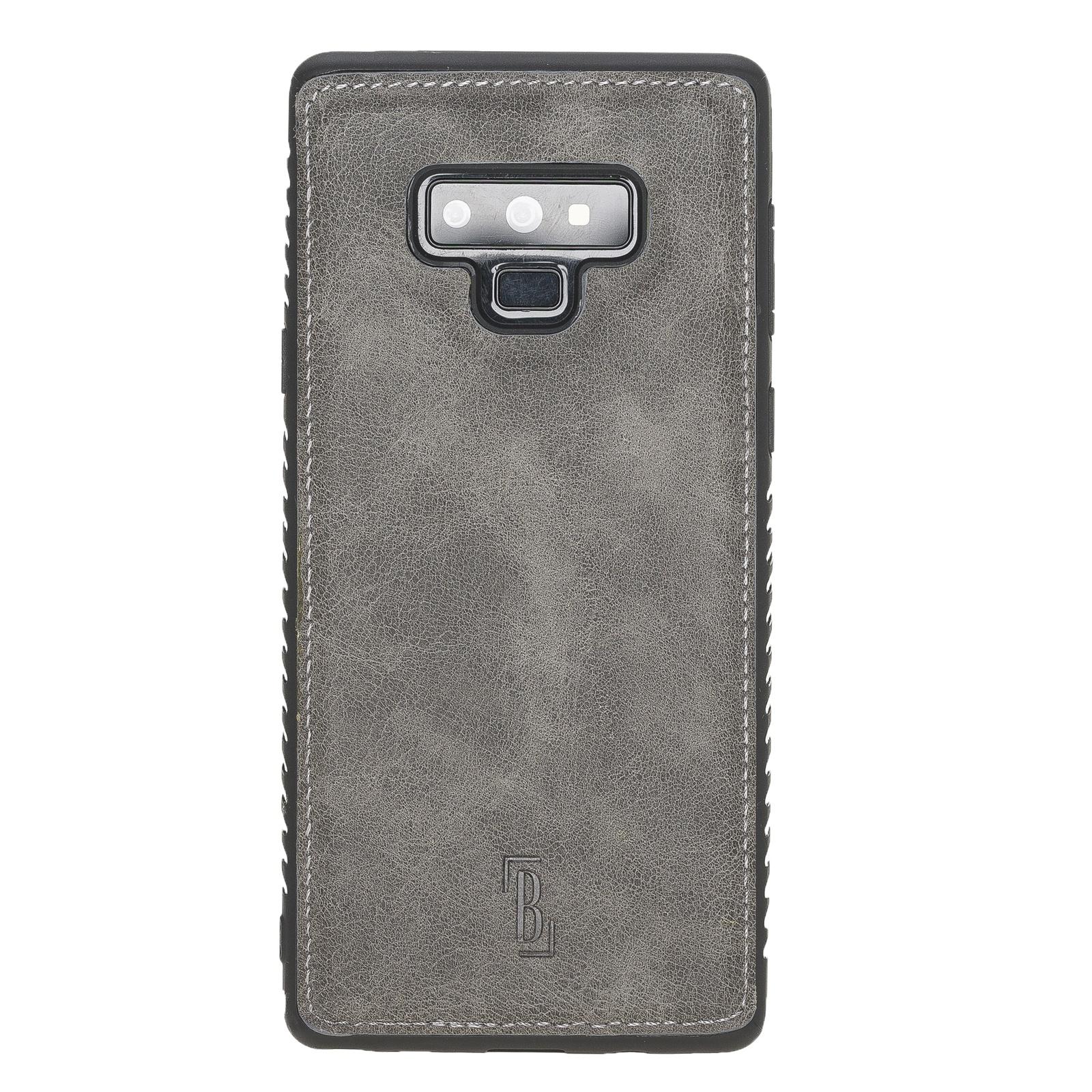 Чехол для сотового телефона Burkley для Samsung Galaxy Note 9 FlexCover, темно-серый