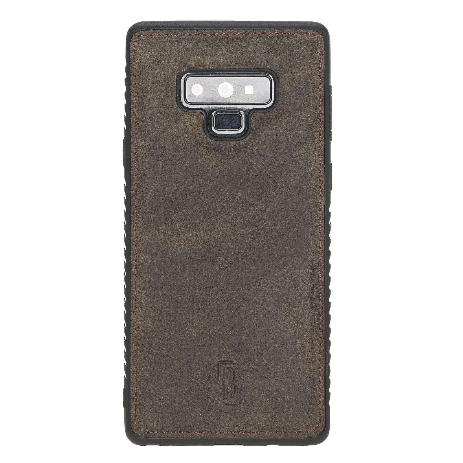 Чехол для сотового телефона Burkley для Samsung Galaxy Note 9 FlexCover, темно-коричневый