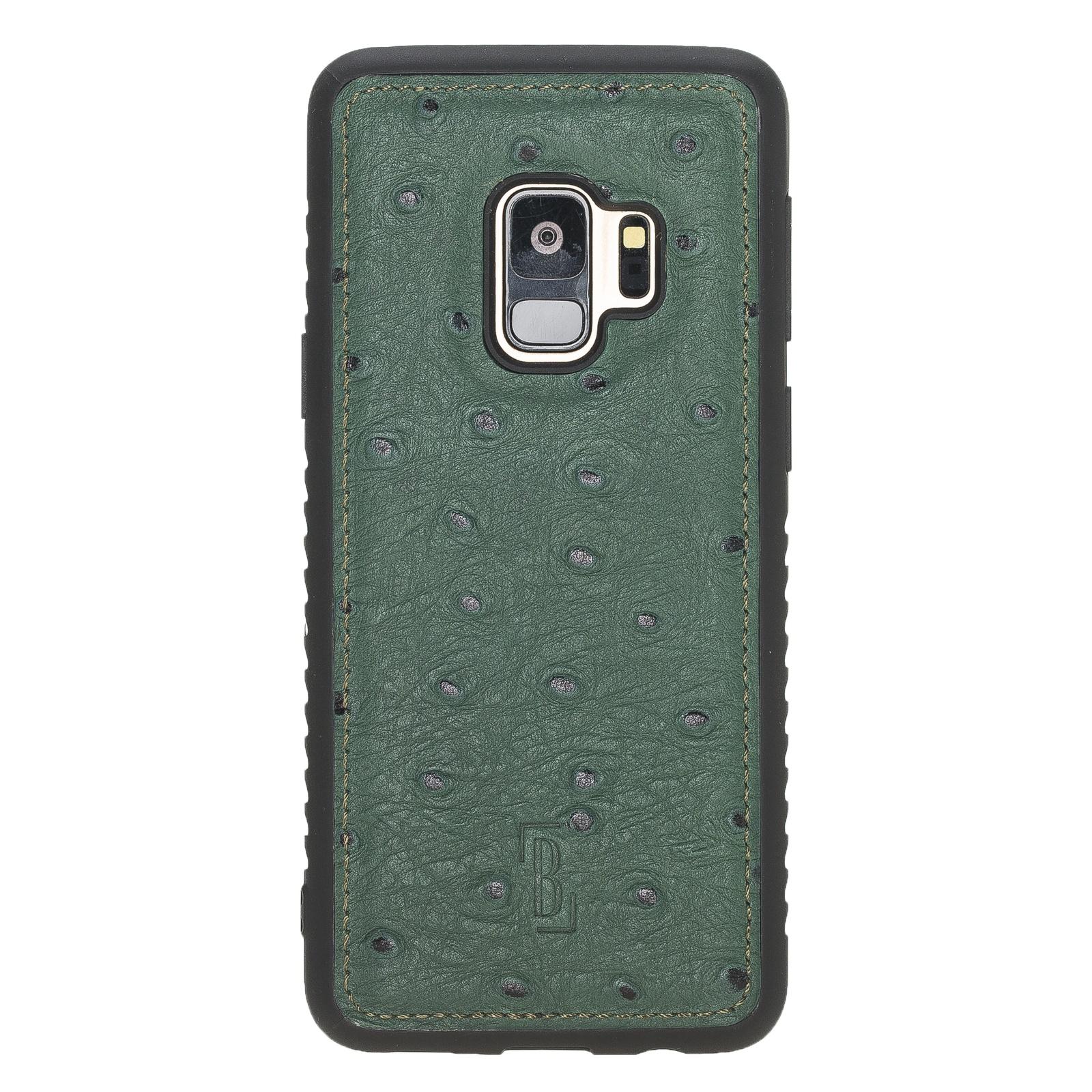 Чехол для сотового телефона Burkley для Samsung Galaxy S9 FlexCover, темно-зеленый
