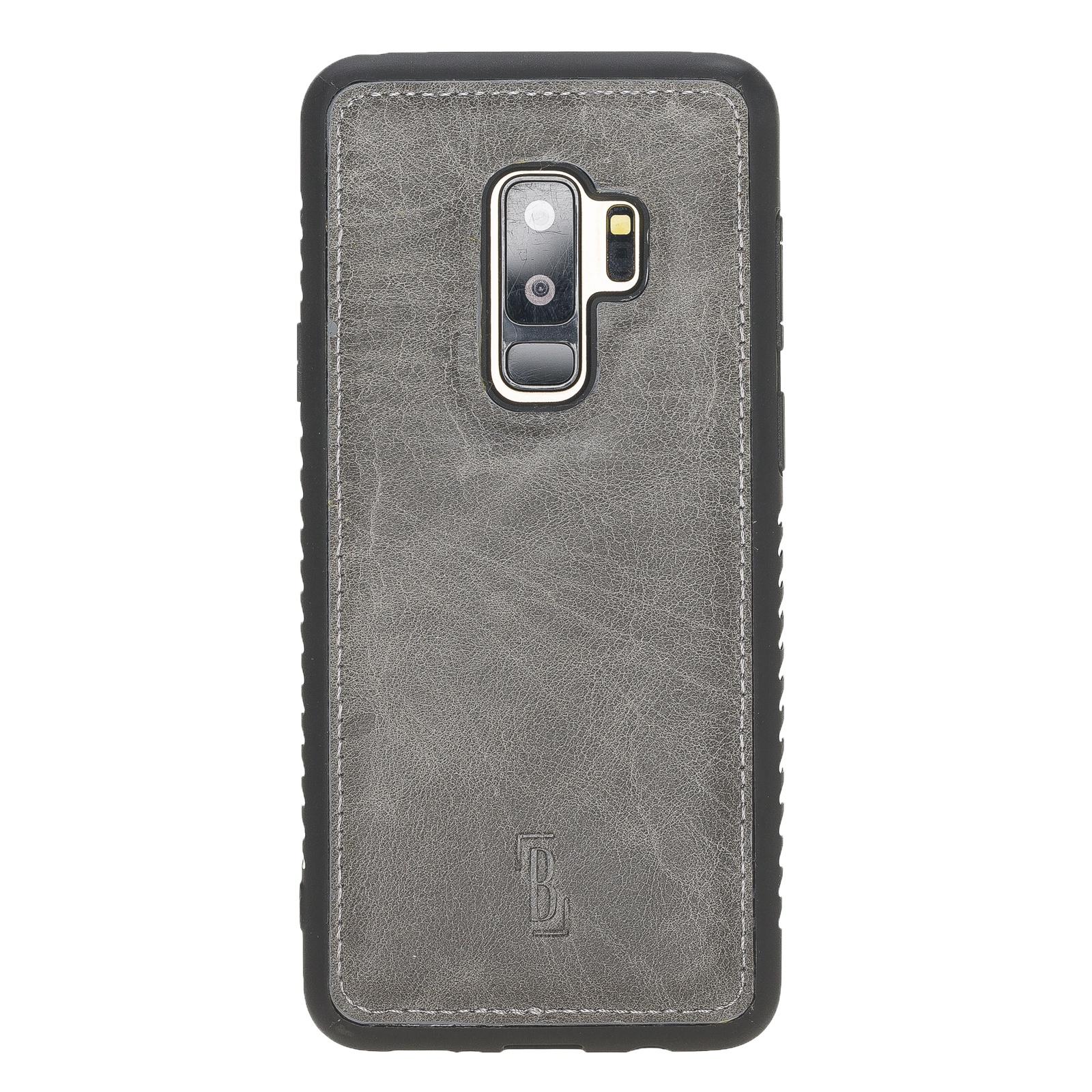 Чехол для сотового телефона Burkley для Samsung Galaxy S9 Plus FlexCover, темно-серый