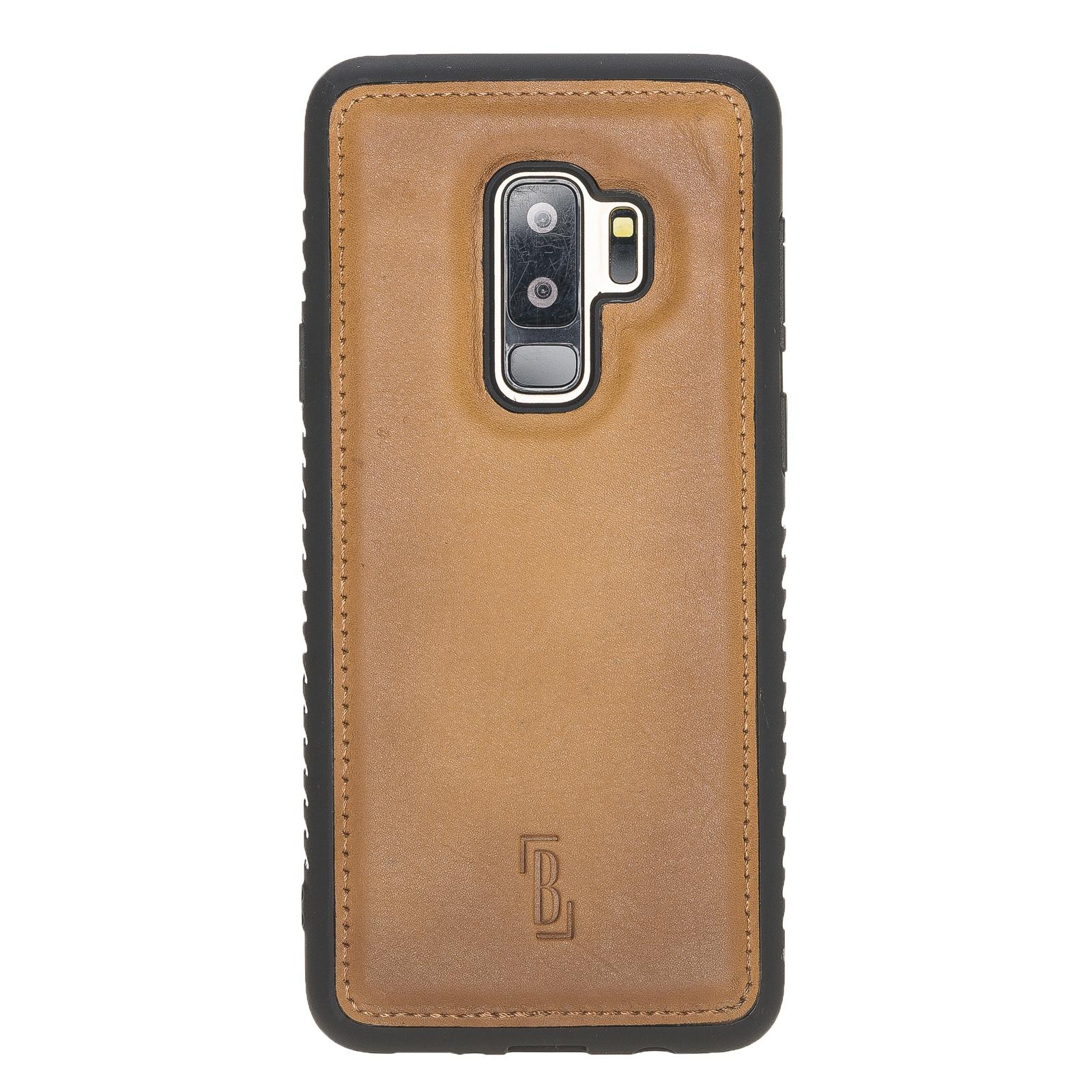 Чехол для сотового телефона Burkley для Samsung Galaxy S9 Plus FlexCover, бронза