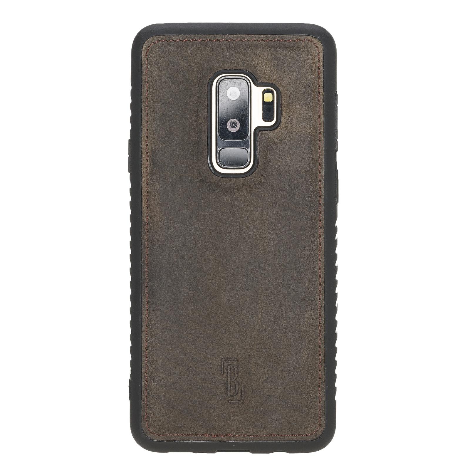 Чехол для сотового телефона Burkley для Samsung Galaxy S9 Plus FlexCover, темно-коричневый