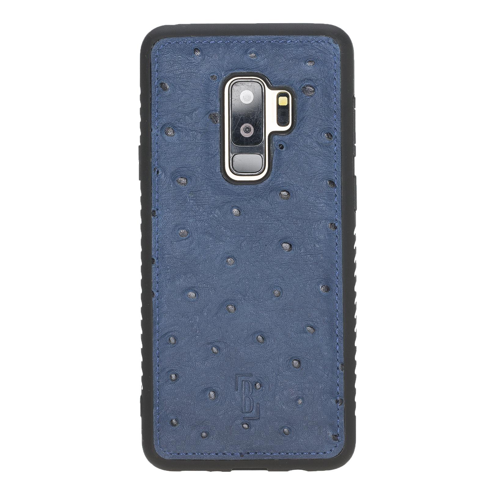 Чехол для сотового телефона Burkley для Samsung Galaxy S9 Plus FlexCover, темно-синий