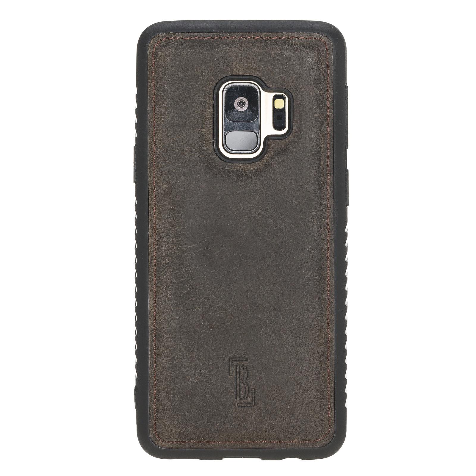 Чехол для сотового телефона Burkley для Samsung Galaxy S9 FlexCover, темно-коричневый