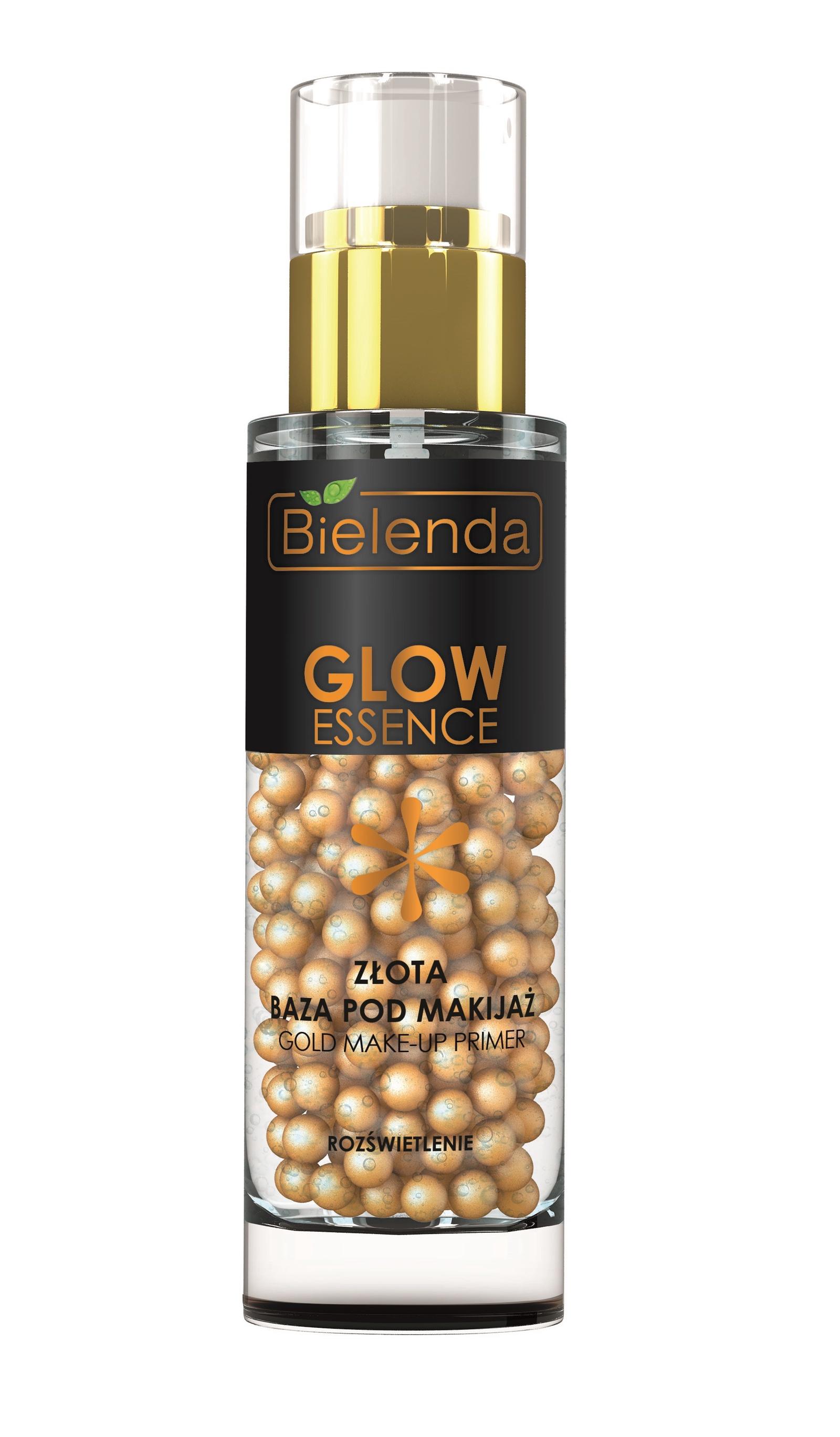 """Гелево-золотая осветляющая основа под макияж, """"GLOW ESSENCE"""""""