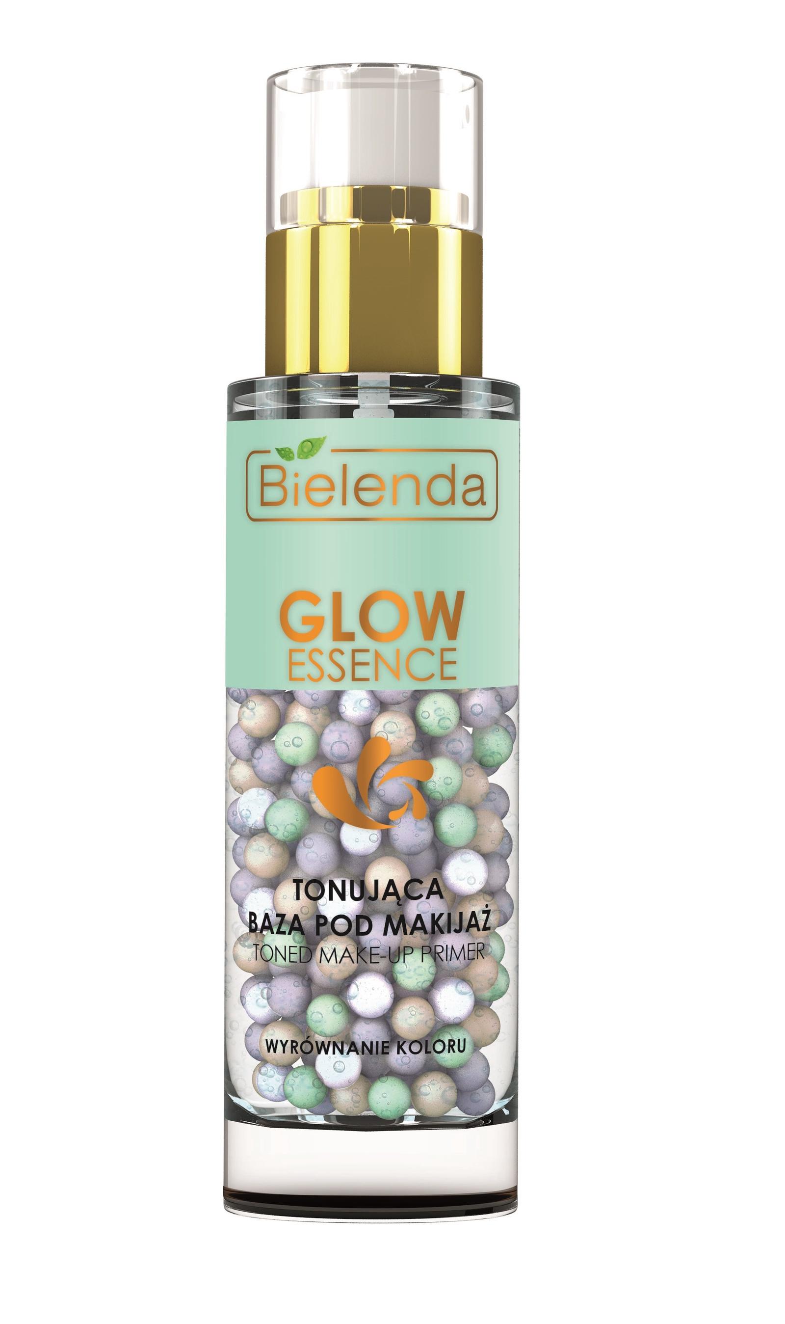 """Гелево-перламутровая основа под макияж выравнивающая тон кожи, """"GLOW ESSENCE"""""""