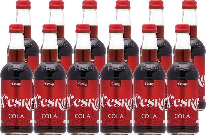 Напиток Vesko Cola, газированный, 12 шт по 280 мл цена