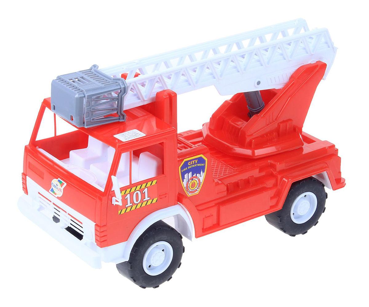 Машинка Orion Toys Пожарная Х2 ОР027, функциональная, 17386691738669Яркий автомобиль спецслужбы с первых секунд привлечет внимание малыша. С инерционной машинкой пожарного кроха почувствует себя настоящим пожарником.