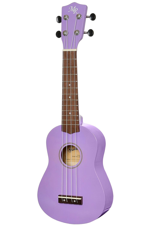 Укулеле MARTIN ROMAS 21PL - сопрано 21, чехол в комплекте, цвет фиолетовый, фиолетовый