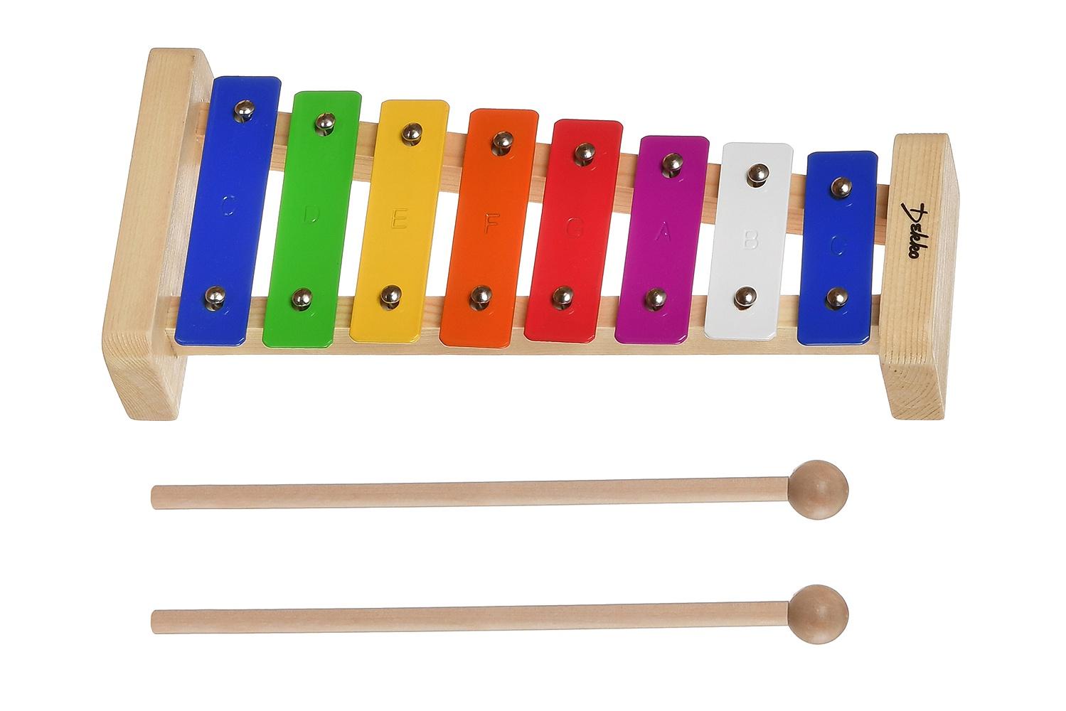 Детский музыкальный инструмент DEKKO TG8-15 бежевый народный духовой музыкальный инструмент 8 букв сканворд