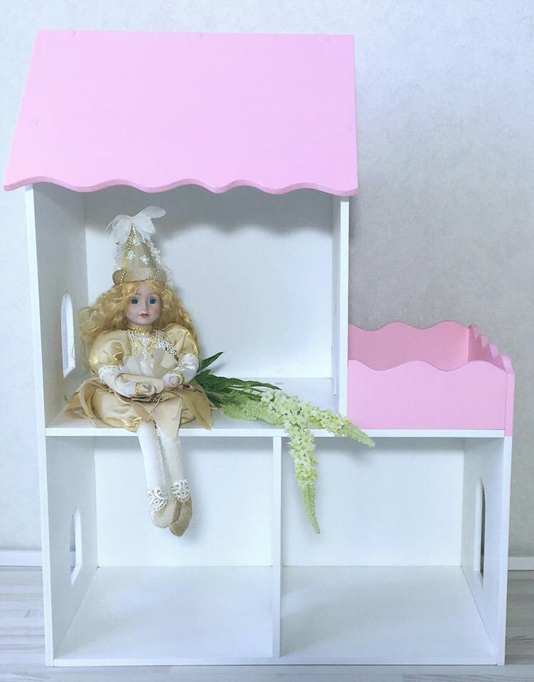 Дом для кукол Коняша 588-ДК002 replace and choose домик для кукол летний дом вероника бело с мебелью
