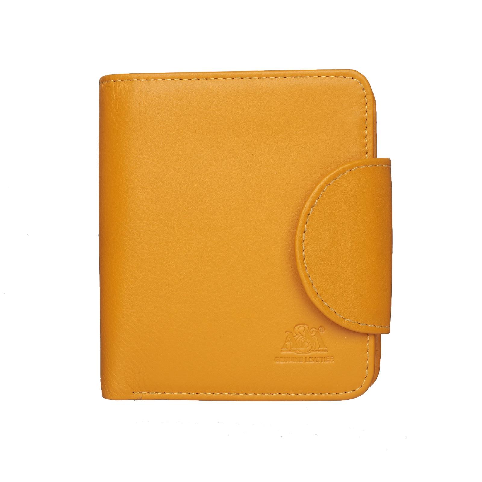 цена Портмоне A&M женское, 2650Yellow, желтый, желтый онлайн в 2017 году