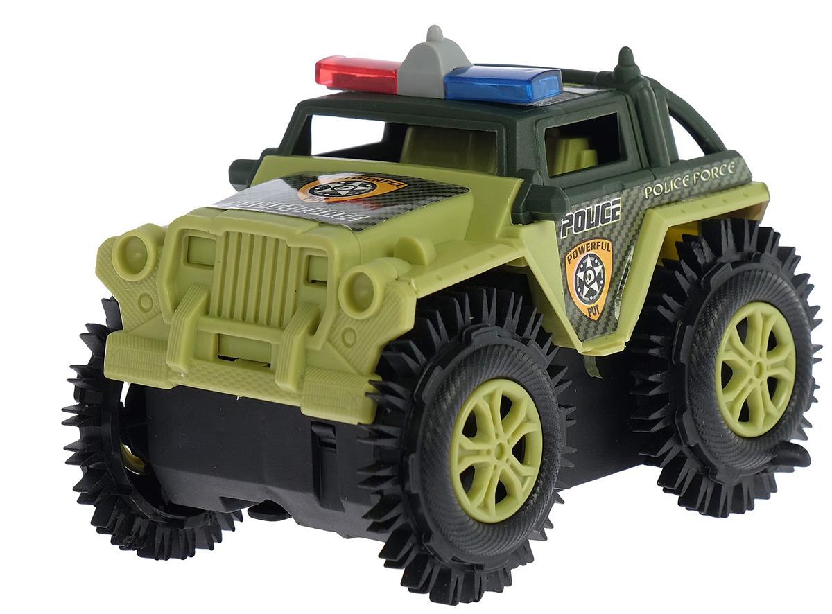 Машинка-перевертыш Джип Полиция, 2635920 джип полиция