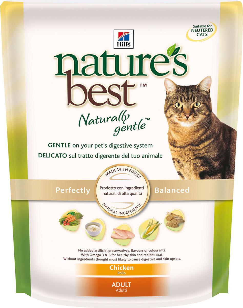 Корм сухой Hill's Nature's Best натуральный для кошек от 1 до 7 лет, с курицей, 300 г
