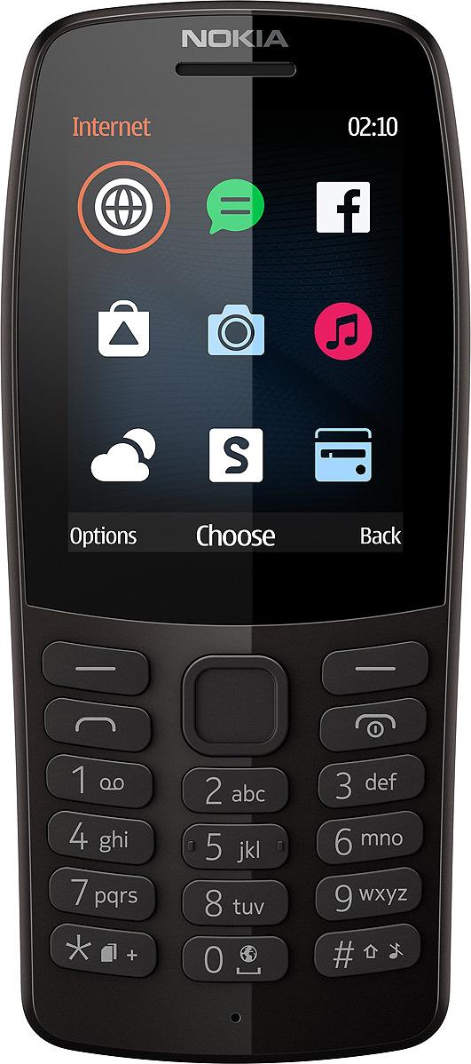 Мобильный телефон Nokia 210 DS, черный