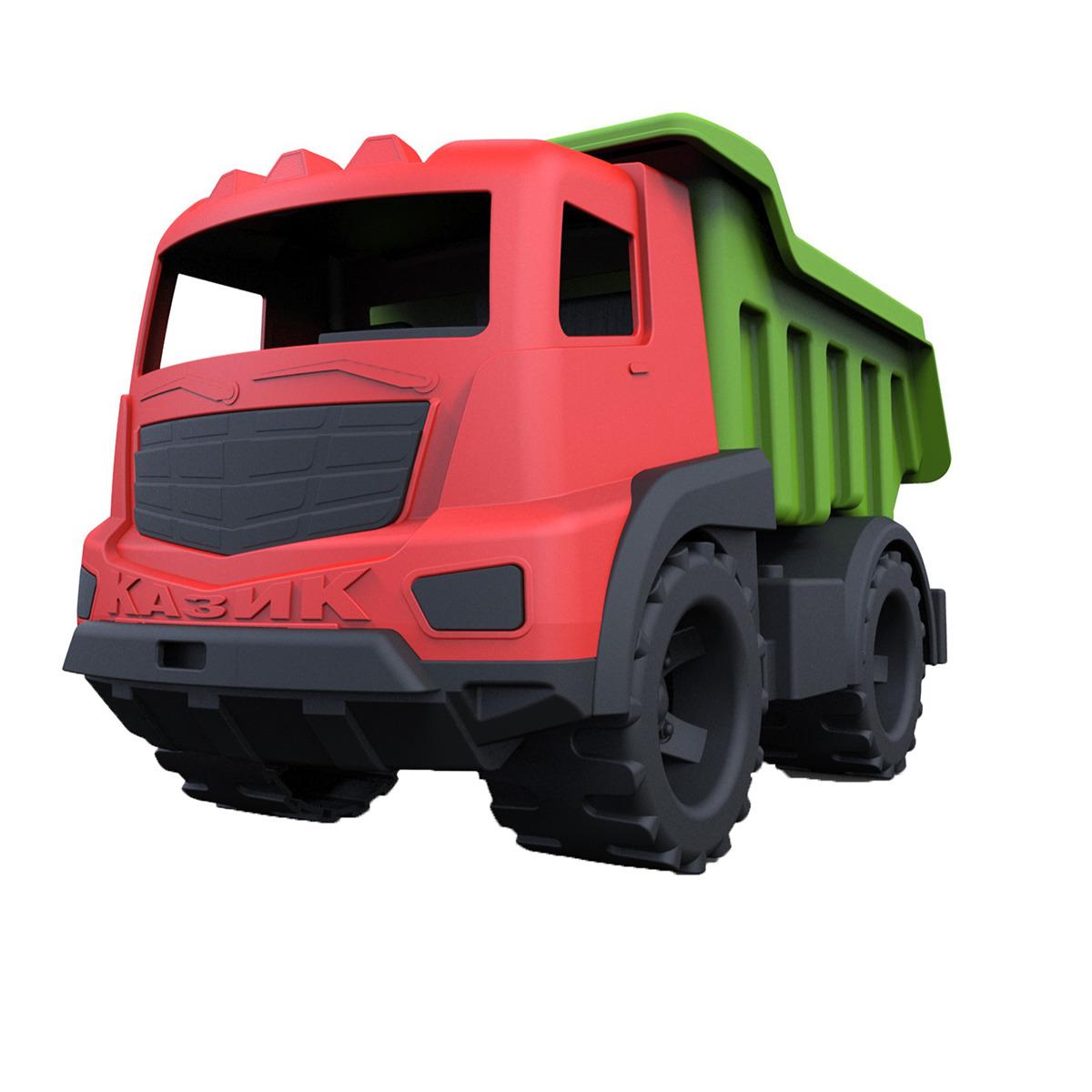 Машинка Казик, 3948028, красный, зеленый