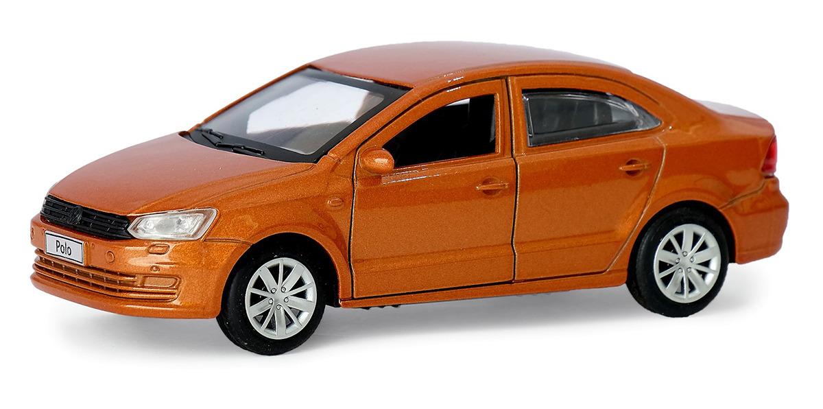 Машинка ТехноПарк VW Polo, инерционная, 4016276, 12 см инерционная машинка best toys машина желтый