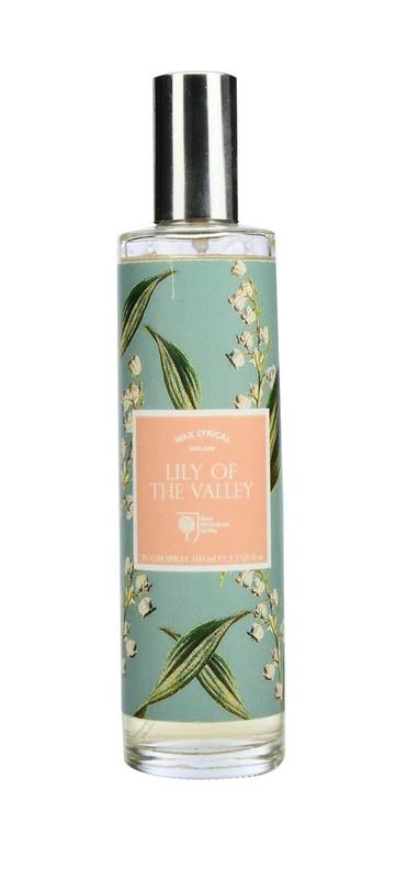 Ароматизатор интерьерный Wax Lyrical Спрей ароматический для дома Ландыши, 100 мл ароматизатор интерьерный wax lyrical цветущая лаванда