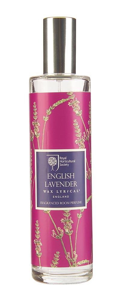 Ароматизатор интерьерный Wax Lyrical Спрей ароматический для дома Цветущая лаванда, 100 мл ароматизатор интерьерный wax lyrical цветущая лаванда