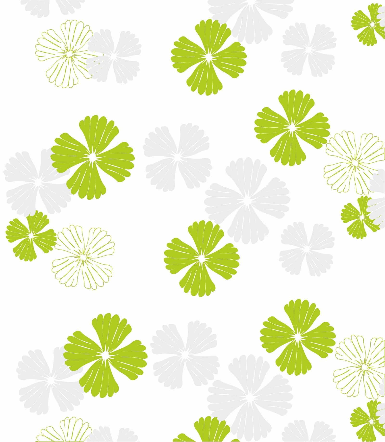 купить Штора для ванной Vanstore Листья, зеленый, белый, серый по цене 479 рублей