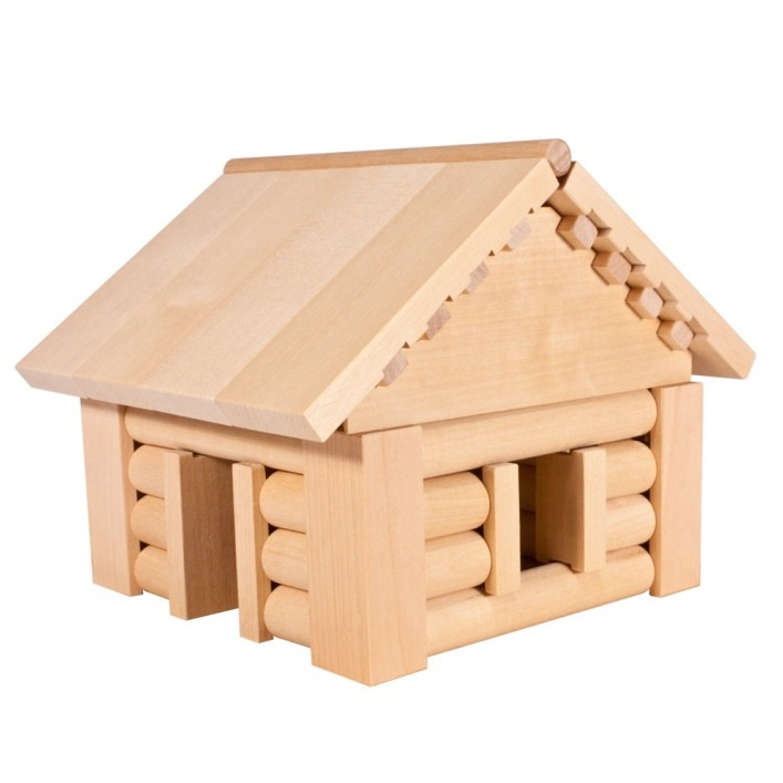 Деревянный конструктор Теремок К581К581Размер модели: 160х175х140 мм. Прилагается пошаговая инструкция, которая позволяет ребенку собрать модель избушки. Сборка проводится с помощью деревянных штифтов. Игра для детей в возрасте от 5 лет. Количество деталей: 90 шт.