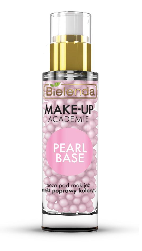 """Розовая база под макияж, """"MAKE-UP ACADEMIE PEARL BASE"""", 30г"""