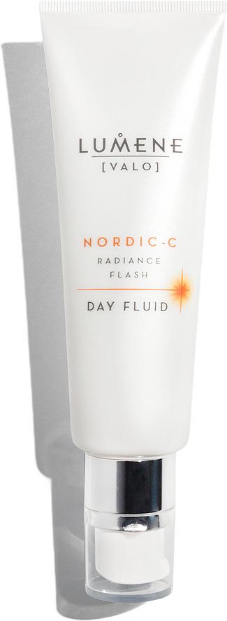 Дневной флюид Lumene Nordic-C [Valo], для мгновенного сияния кожи, 50 мл lumene valo придающий сияние дневной крем vitamin c 50 мл