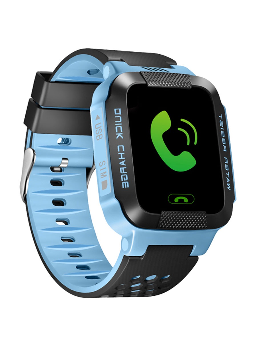 Умные часы ZDK Y21G, синий, черный умные часы ginzzu® gz 701 black 50м android ios bluetooth мониторинг сна калорий физ активности