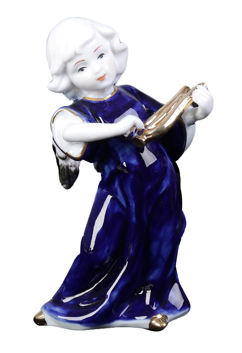 Фигурка декоративная Ангел с арфой, 2296249, 15,5 х 7,5 х 9 см2296249Фигурка ангела изготовлена из натурального материала. Является оберегом, который защищает дом и людей, живущих в нем, от мелких неприятностей и неудач. Если вы хотите проявить заботу о родных или близких, то подарите такую фигурку на свадьбу, день рождения или по любому другому поводу. Сувенир поможет выразить теплые чувства, ведь он говорит о вашем желании видеть человека под защитой ангела-хранителя, который будет оберегать его от всех недоброжелателей и невзгод.