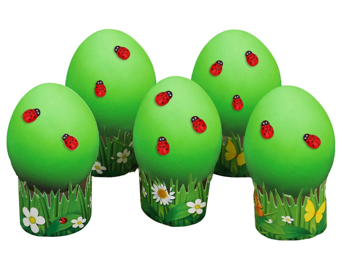 """Пасхальный набор для украшения яиц """"Божьи коровки"""", 2805923, 13 х 18 см"""