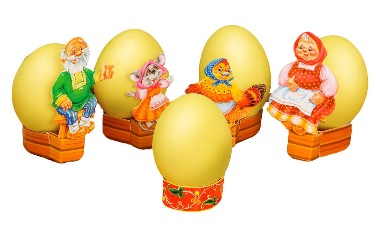 Пасхальный набор для украшения яиц Курочка Ряба, 2806419, 13 х 18 см2806419В Пасху существует обычай расписывать яйца и обмениваться ими. Украсьте это традиционное угощение в оригинальной манере с таким набором для декора.