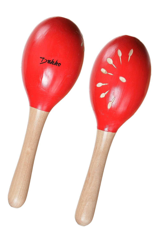 Детский музыкальный инструмент DEKKO M0 RD красный музыкальные игрушки meinl маракасы деревянные nino7pd b
