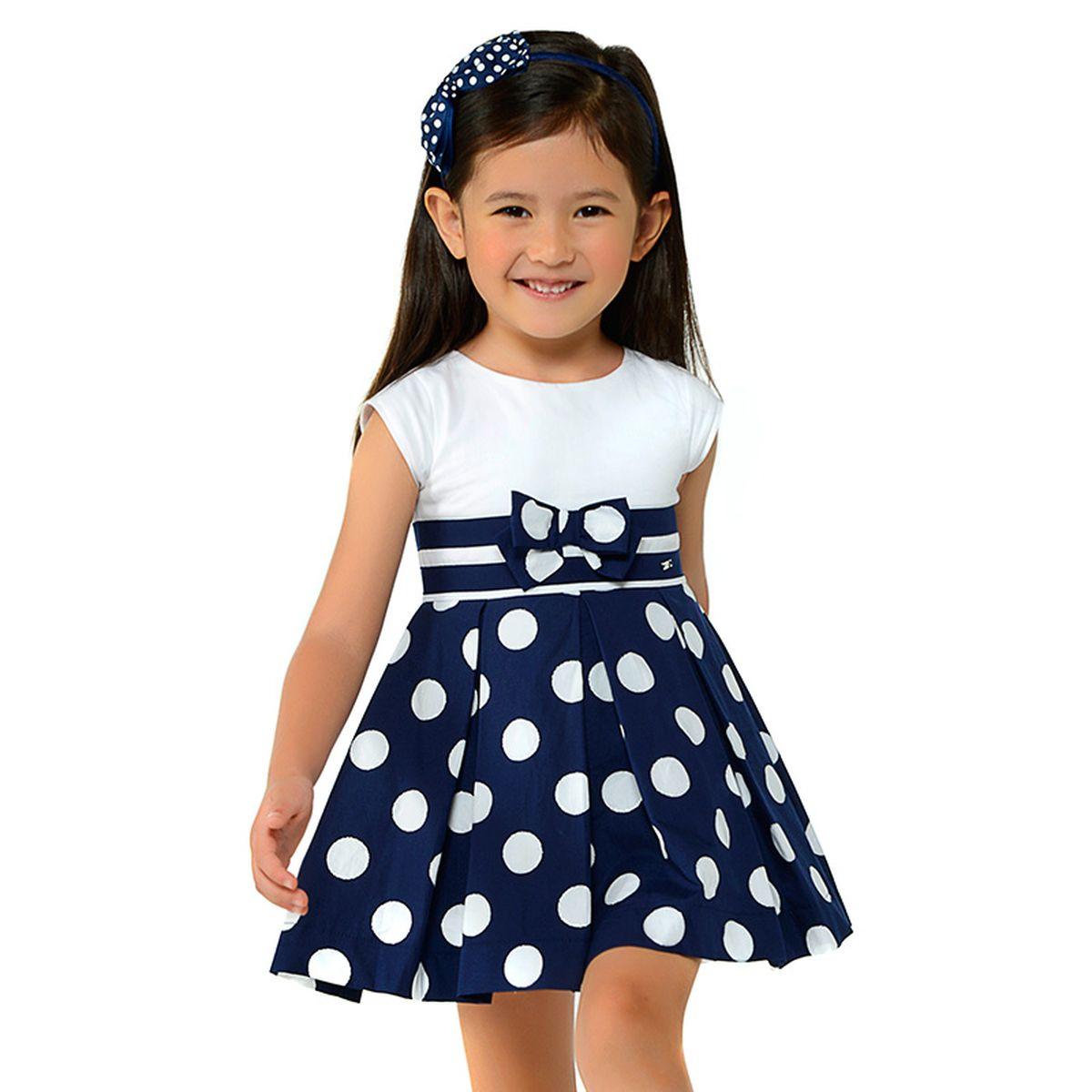 Платье для девочки Mayoral, цвет: темно-синий. 3938-85-6G. Размер 128, 8 лет3938-85-6G