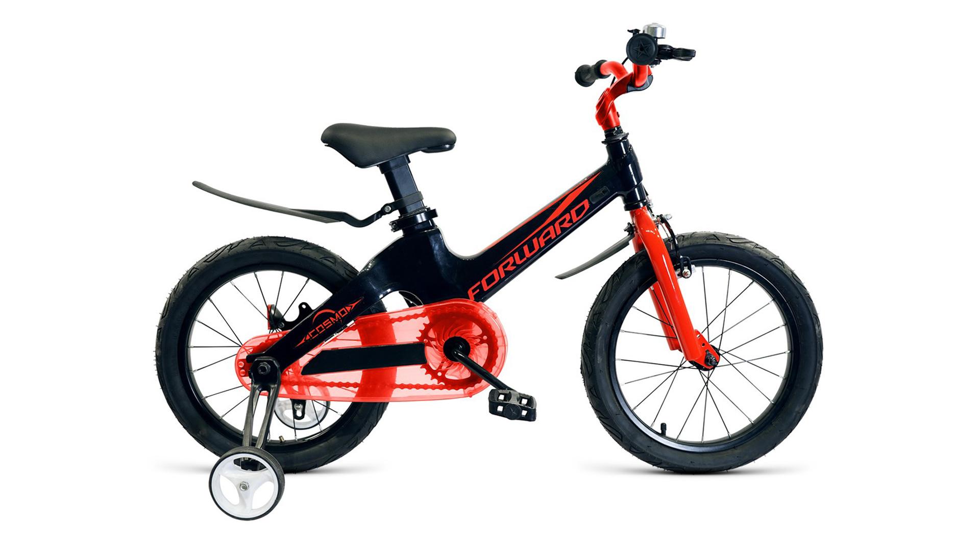 Велосипед Forward Cosmo, черный, красный велосипед forward zigzag 2019