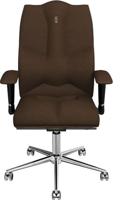 Компьютерное кресло Kulik System Business, цвет: коричневый