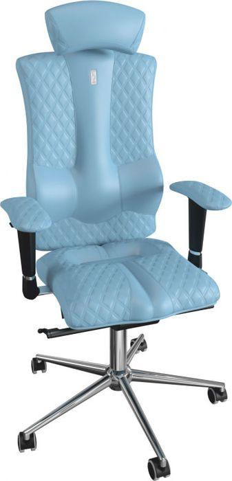 Компьютерное кресло Kulik System Elegance, цвет: светло-синий