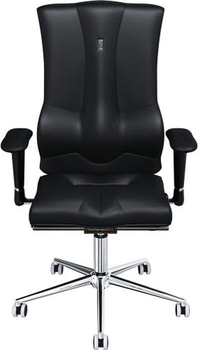 Компьютерное кресло Kulik System Elegance, цвет: черный. 1008