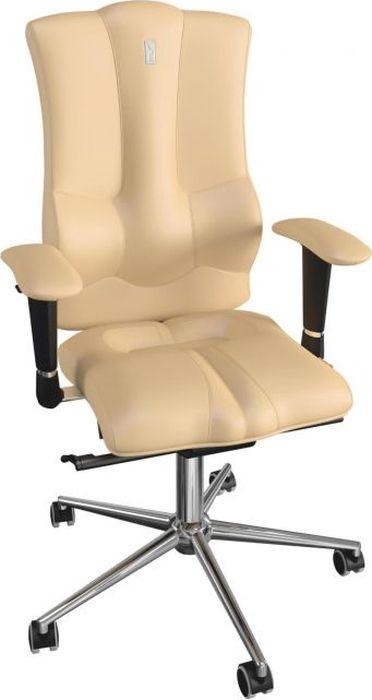 Компьютерное кресло Kulik System Elegance, цвет: песочный. 1009